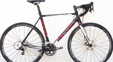 The 2015 Blue Norcross AL cyclocross bike, with SRAM Apex and BB5 disc brakes. © Cyclocross Magazine