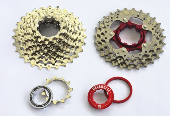 The titanium HOUP is coming in June, and will replace the three largest cogs and get you close to Dura-Ace cassette weights at a much lower cost.
