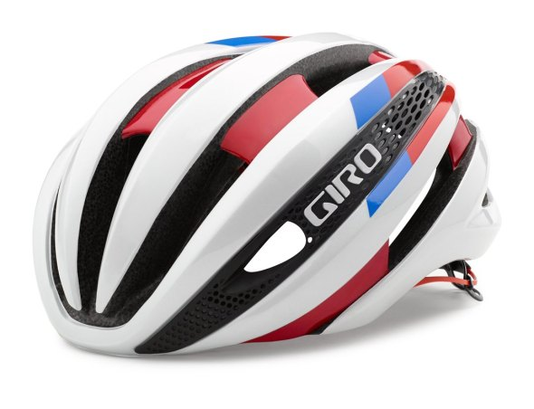 Giro claims its new Synthe helmet, due to be released in December, is more aerodynamic, lighter weight, and better ventilated than all other Giro models.
