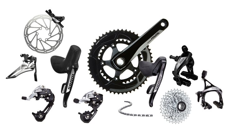 SRAM Rival 22 component group with Yaw and HydroR unveiled.