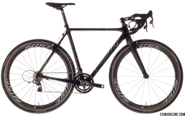 Ridley's most impressive offering, the X-Night SL, comes standard with Zipp 303 and SRAM Red 22