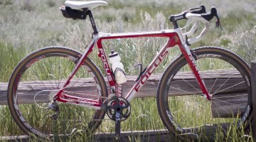 Straight from the cyclocross course - Prenzlow's Focus Mares © Cyclocross Magazine