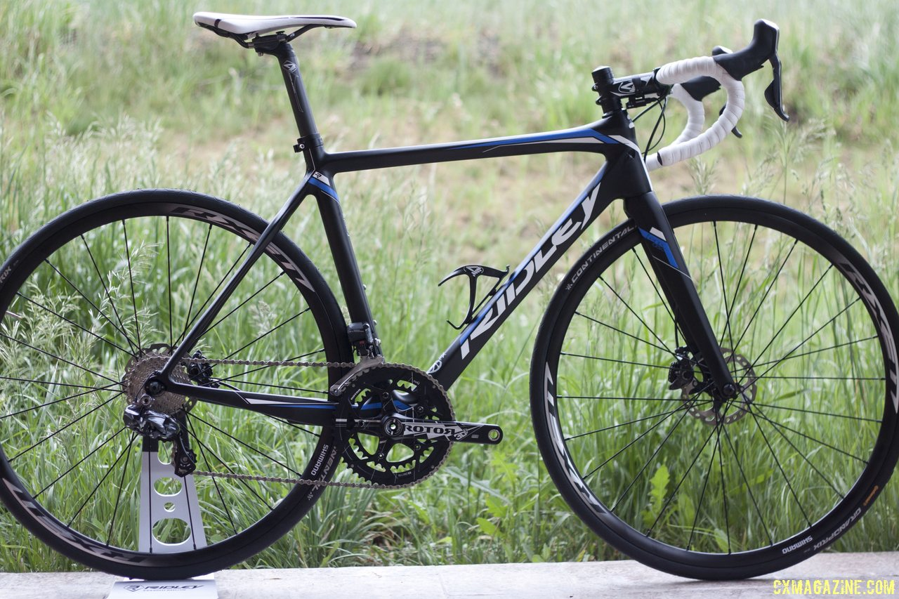 2015 Ridley X Night X Fire Cyclocross And Fenix Road Disc Bikes