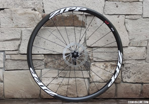 Zipp's lightweight road wheel set, the 202 Firecrest, now comes with the option of a disc-brake model