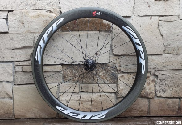 The all new Zipp 404 Firestrike wheel set comes with new groove patterns to combat crosswinds better.