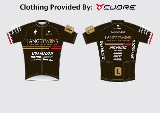The New LangeTwins kit will literally be one of a kind for the 2014/2015 season.