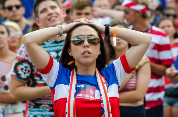 American fans were left to wonder what could have been. © APJ photography on flickr