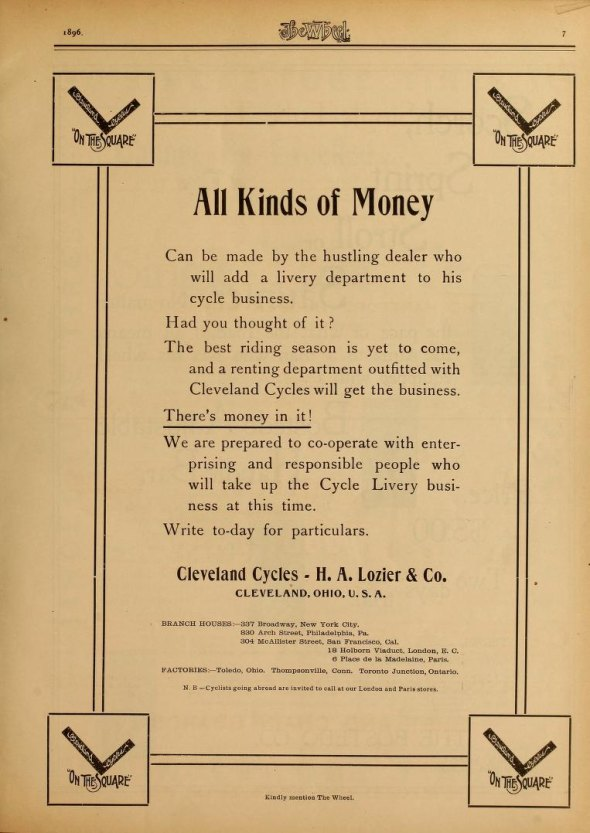 "For hustlers, there was ""all kinds of money"" to  be earned in the cycling industry."