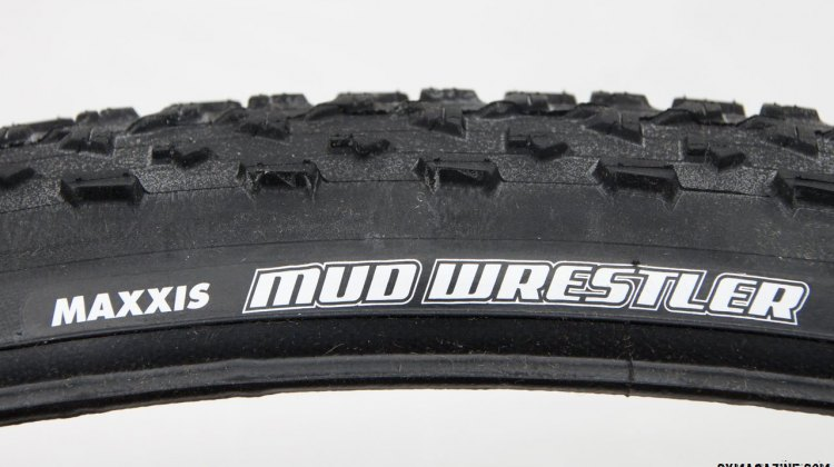 Maxxis Mud Wrestler TR tubeless cyclocross tire. © Cyclocross Magazine