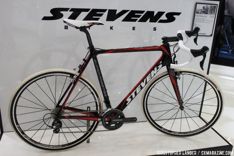 Stevens: You can have any color you want, as long as it's black! © Christopher Langer