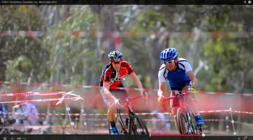Video: Tight racing at the PACC Crossfire Cup Cyclocross Race in Adelaide, Australia.