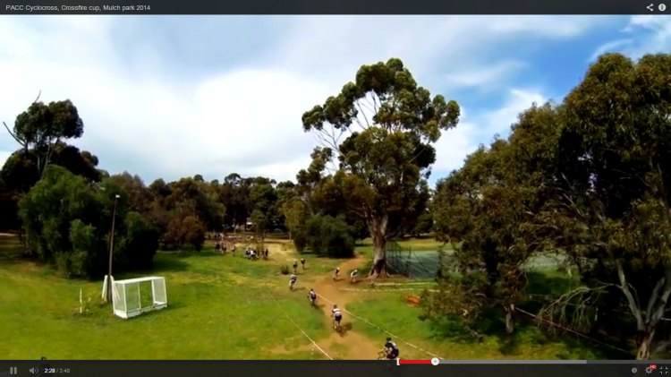 Video: PACC Crossfire Cup Cyclocross Race in Adelaide, Australia.