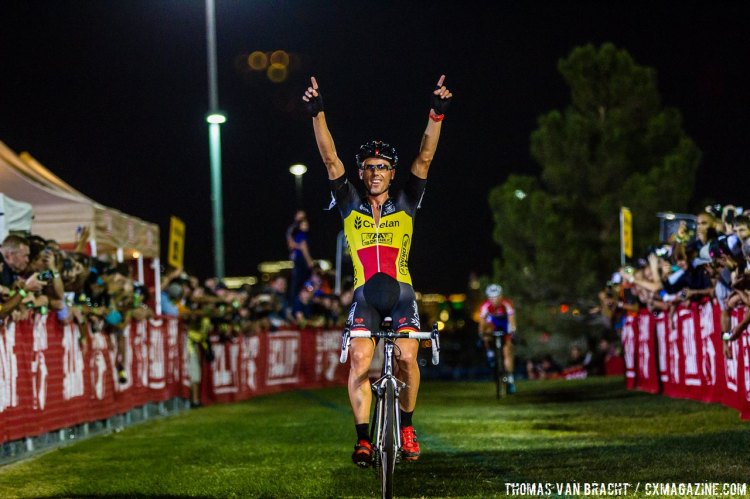 "Nys on racing and being undefeated in the States: ""It's a special feeling"" 2014 CrossVegas © Thomas van Bracht / Peloton Photos"