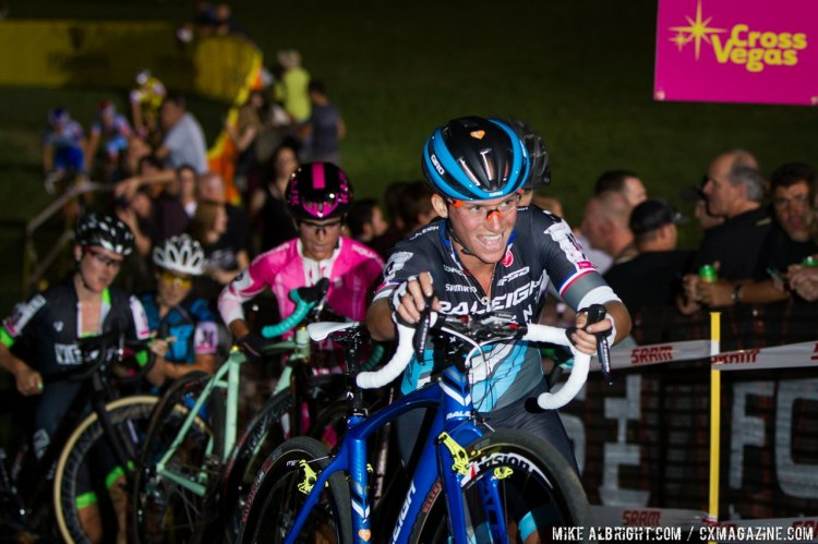 Caroline Mani ran down Katie Compton and Meredith Miller in the USA PRO CX standings. © Mike Albright / Cyclocross Magazine