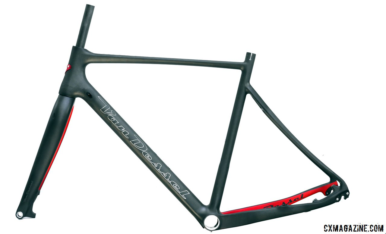 the ftb frame lost over 300g in the redesign 2015 van dessel full tilt boogie