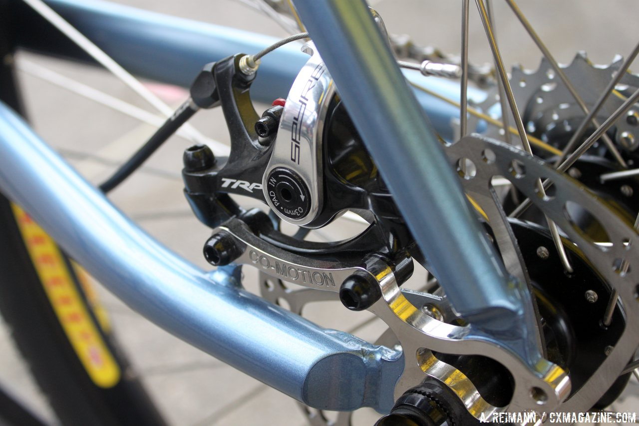 co-motions-stainless-steel-dropout-on-the-americano-allows-for-a-160mm-rotor-and-trp-spyre-caliper-cyclocross-magazine
