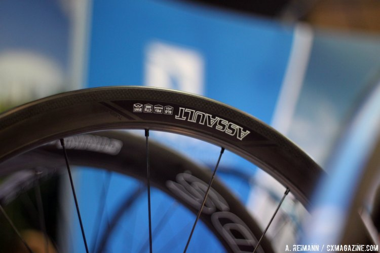 The Assault will be one of three Reynolds wheel models that will be tubeless ready for 2015; the others will be the Attack and Strike. © Cyclocross Magazine