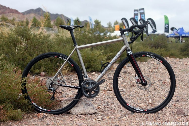 The  Litespeed T5g, an adventure oriented version of the T5 road bike. © Cyclocross Magazine