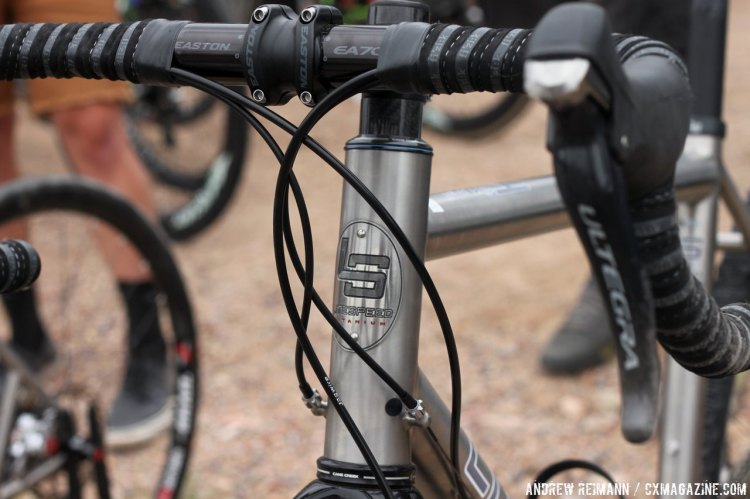 The T5g is  Litespeed's self-described everything bike, and while it can be used for cyclocross, it was build with adventure racing in mind. © Cyclocross Magazine