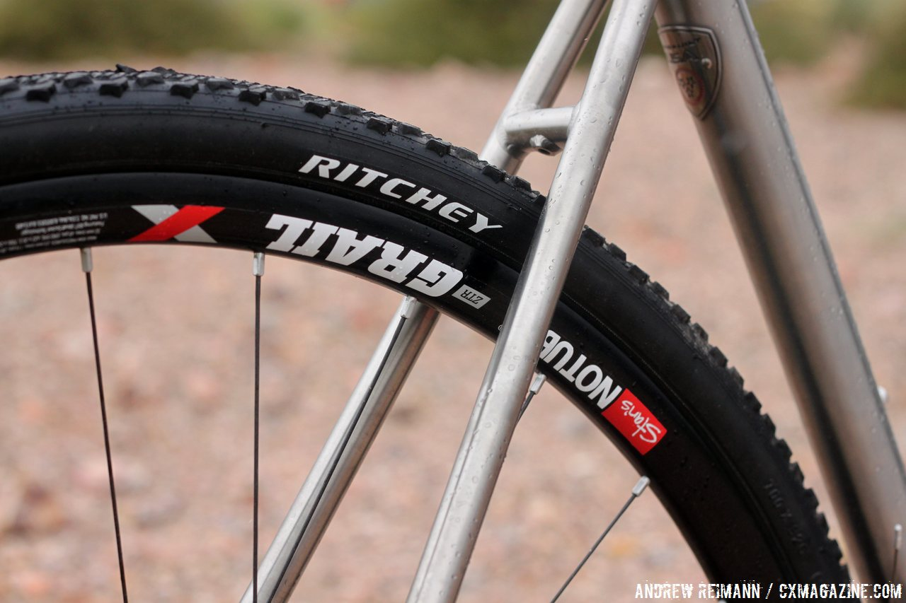 Lightspeed was able to get a Stan's NoTubes Grail 11-speed