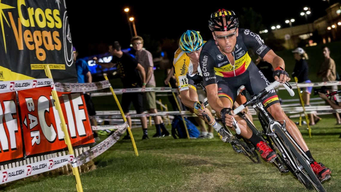 Sven Nys said he felt strong, and knew he could win. © LasalaImages.com
