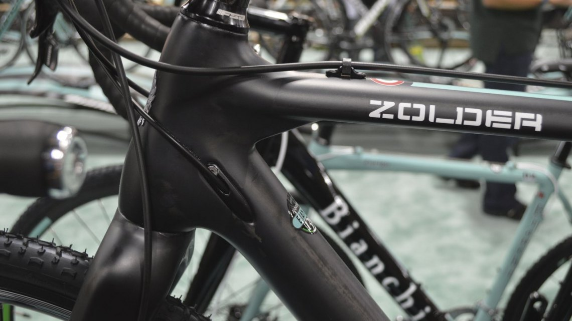 Will the Zolder live up to its World Cup name? Interbike 2014 © Cyclocross Magazine
