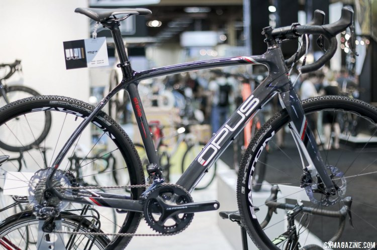 Opus opened its doors in 2000 making road bikes and have expanded their lineup with cyclocross bikes like the Stelle 1.0 soon after. © Cyclocross Magazine