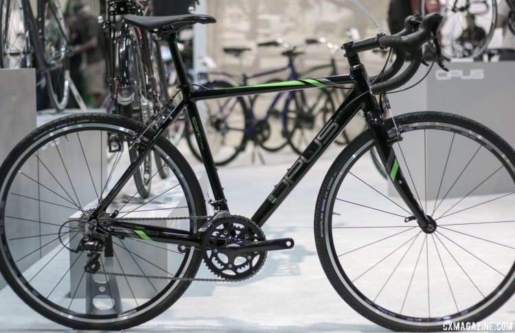 The Opus Spark 3.0 is their triple butted aluminum cyclocross bike. © Cyclocross Magazine