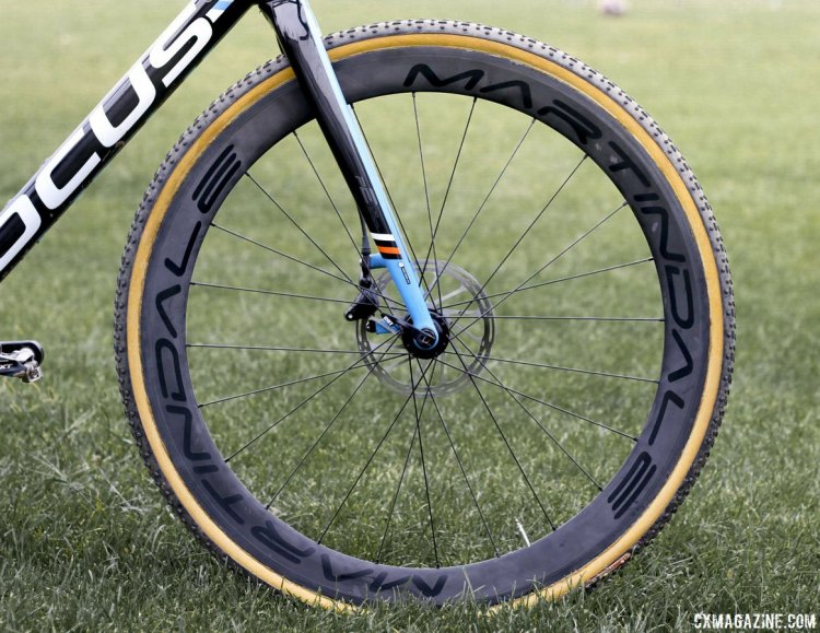 The Sonic team is sponsored by Martindale wheels, a small hand-made Nashville wheel company. © Cyclocross Magazine
