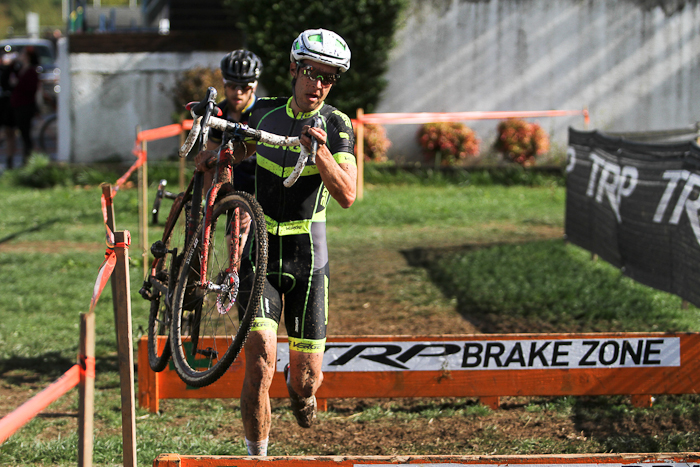 Between Charm City and Cross Crusade, Chris Jones's return to cyclocross has been a warm welcome. © Pat Malach