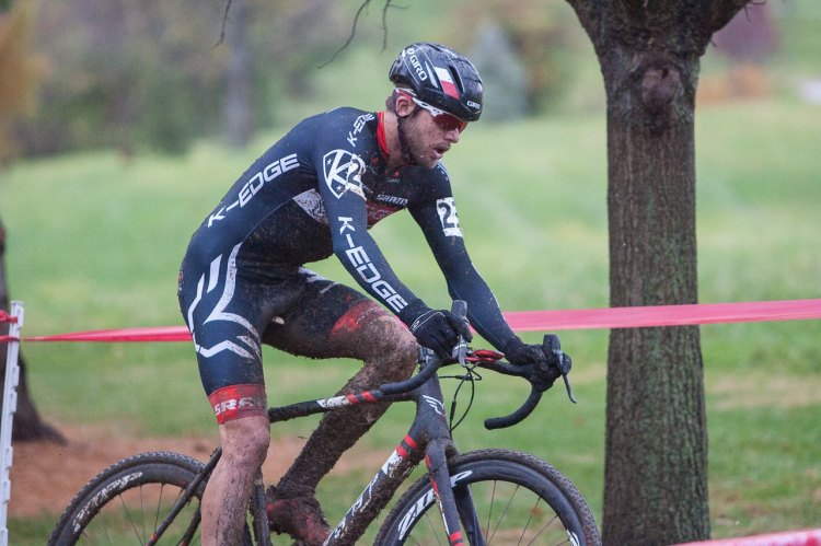 Summerhill fought against the mud to take the win at day one. © Kent Baumgardt