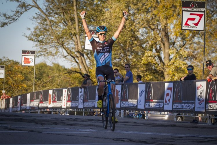 Jamey Driscoll, constantly placing well all year, takes his first UCI win of the season. © Matt James
