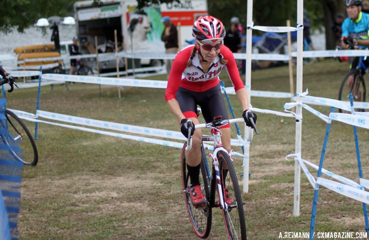 Long-time professional cyclocross racer Mo Bruno Roy joins the Amy D. Foundation as manager/mentor. © Andrew Reimann