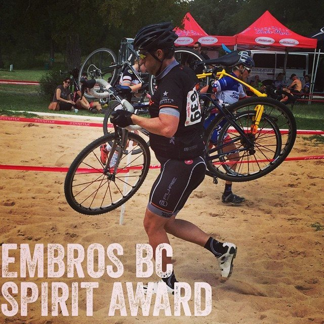 Guy Nethery, 47, passed away just after finishing a cyclocross race. Photo from Embros Bicycle Club.