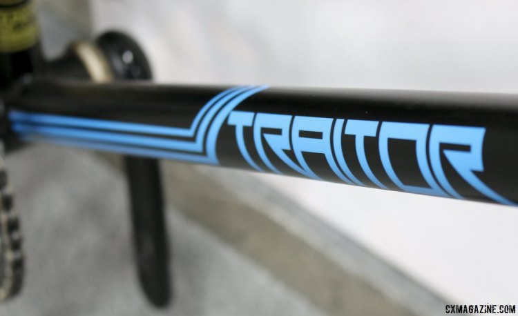 The 2014 Traitor in blue/black but the 2015 models will be blue/orange or grey/orange. © Cyclocross Magazine