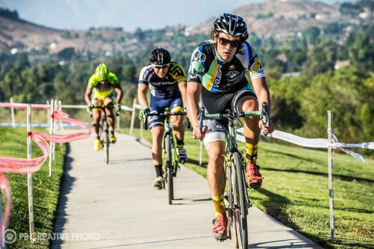 Andrew Juiliano leads Rex Roberts and Alfred Pacheco at Anza Crossing. © Philip Beckman/PB Creative