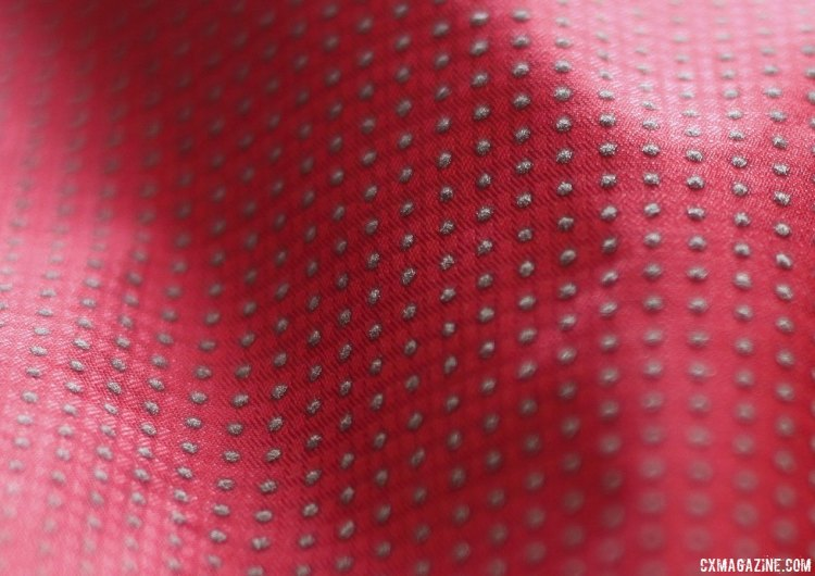 Here is the pixel fabric in high-lit conditions. © Cyclocross Magazine