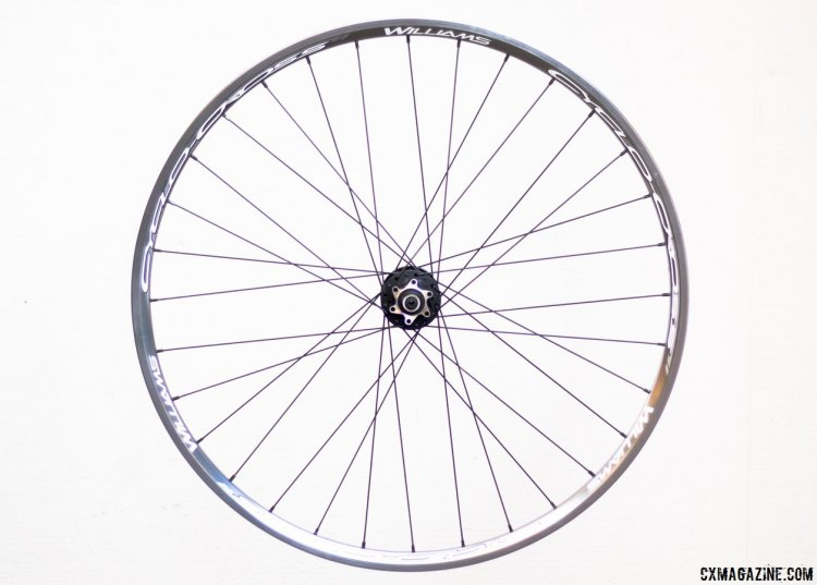 Williams Cycling Cyclo-cross Disc Alloy wheels, and as the name suggests, they are built with cyclocross in mind. © Cyclocross Magazine