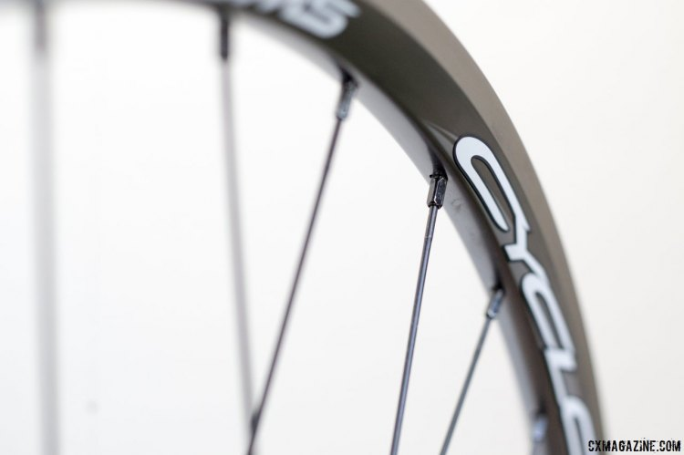 The rim of the Williams Cycling Cyclo-cross Disc Alloy wheels are acually the same as the non-disc model, only lacking the brake track. © Cyclocross Magazine