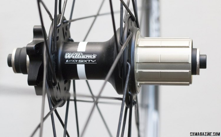 The Williams Cycling Cyclo-cross Disc Alloy wheels are not the lightest wheelset money can buy, but with what you save, owning multiple wheelsets becomes a possibility. © Cyclocross Magazine