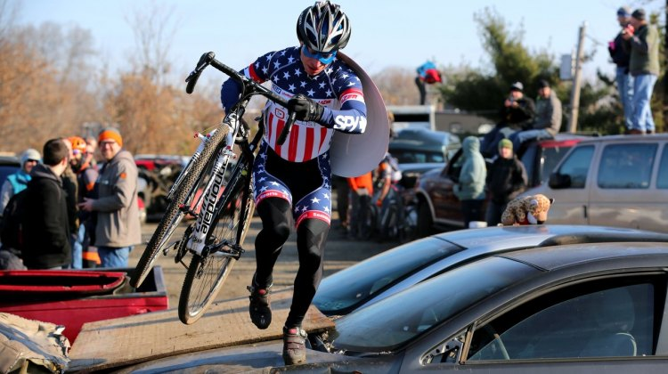 File photo from the 2014 Bilenky Junkyard Cross. The 2015 event is unfortunately cancelled. © Scott Kingsley | ScottKingsleyPhotography.com