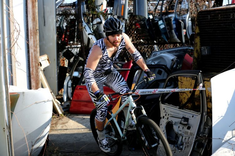 Today on the cyclocross channel, we will behold the elegant zebra in its natural surroundings. © Scott Kingsley | ScottKingsleyPhotography.com