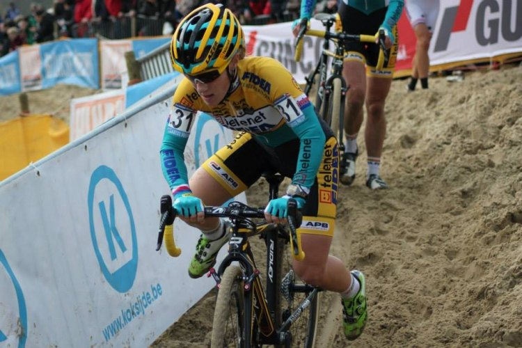Pavla Havlikova at the Koksijde World Cup in 2014. © Willem Beerland