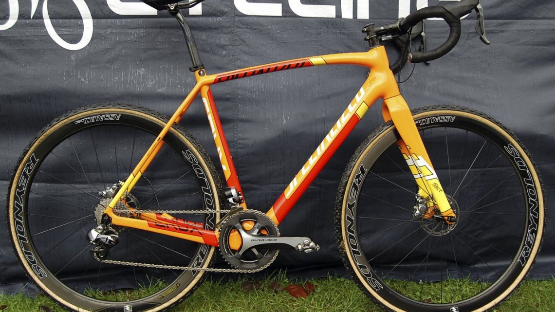 Ben Sumner's Specialized CruX cyclocross bike. © Andy Ward / Cyclocross Magazine