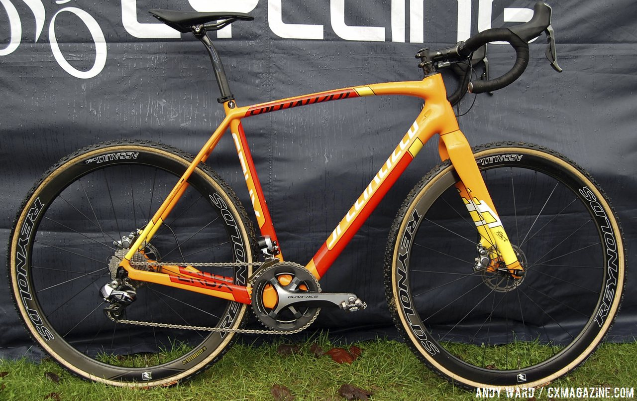 Pro Bike Profile: Ben Sumner's Specialized CruX Spotted at Milton Keynes - Cyclocross Magazine - Cyclocross News, Races, Bikes, Photos, Videos