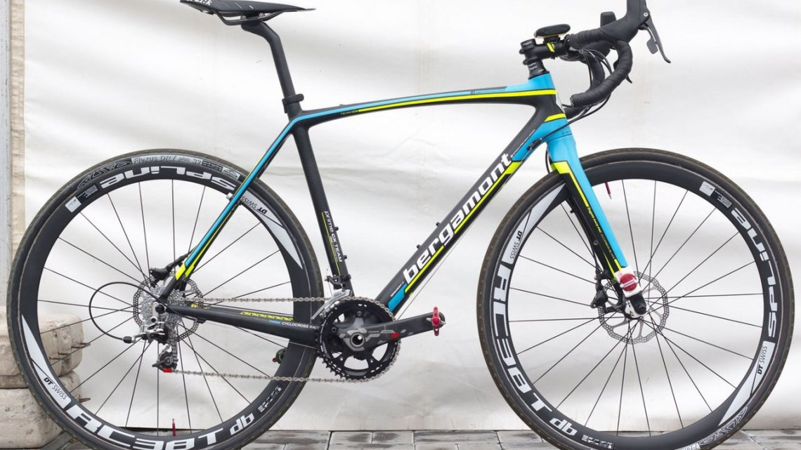 Margriet Kloppenburg's Bergamont Prime CX Team cyclocross bike. © Cyclocross Magazine