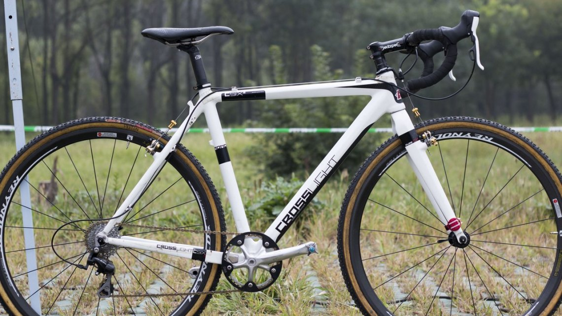 Hannah Payton's Crosslight CSIX2 by KinesisUK. © Cyclocross Magazine