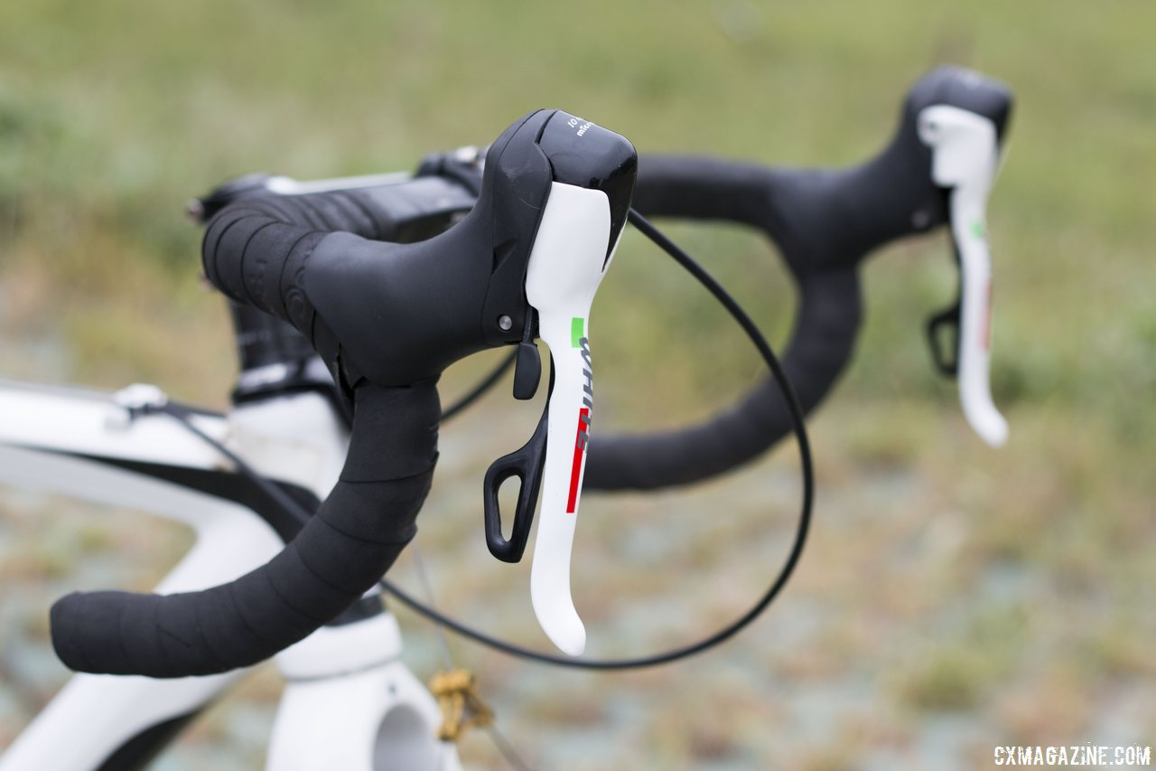 payton-uses-10-speed-microshift-white-levers-an-alternative-to-the-traditional-components-one-often-sees-on-stock-builds-cyclocross-magazine