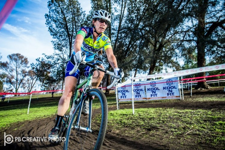 Christina Probert-Turner knows her way around a CX course. © Philip Beckman/PB Creative