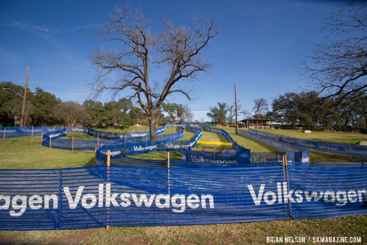 Course Designers making the most of Zilker Park's hillside. © Brian Nelson